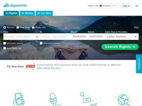 Compare Cheap Airfares in One Go with Skyscanner Philippines