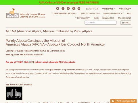 Alpaca Fiber Cooperative of North America