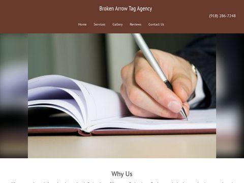 Broken Arrow Tag Agency