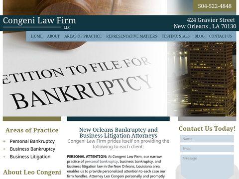 Visit congenilawfirm.com