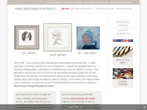 Anna Bregman child portraits