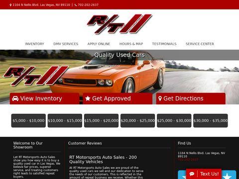 RT Motorsports Auto Sales