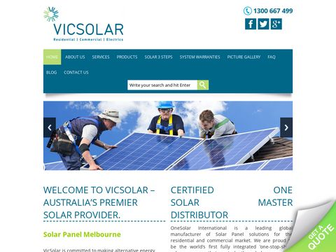 Solar Electricity Systems | Solar Panel rebate | 3kw solar system | Victoria | Melbourne