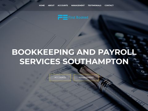 Bookkeeping Services for Small Businesses | First Booked