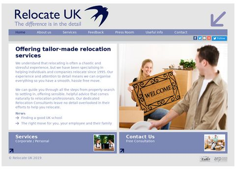 Relocate UK -Expert Global Relocation Company