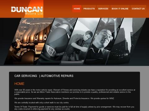 Duncan Motors | Automotive, Car Servicing, Repairer | Palmerston North, NZ