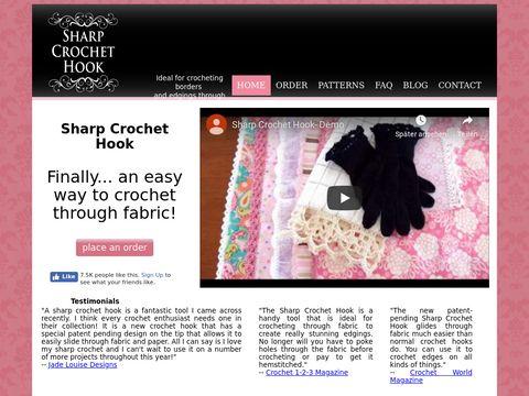 Sharp Crochet Hook