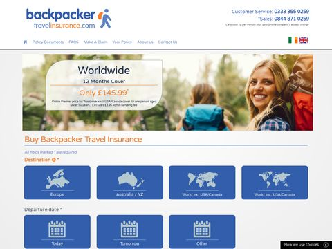 Online dating Backpackers