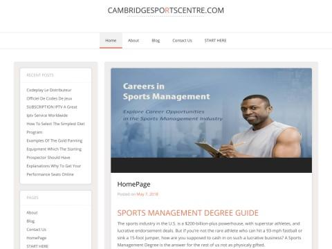 Cambridge Sports Centre
