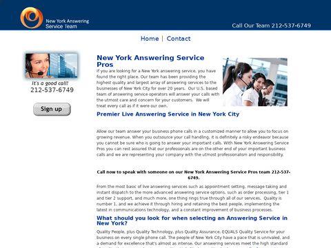 New York Answering Service Pros