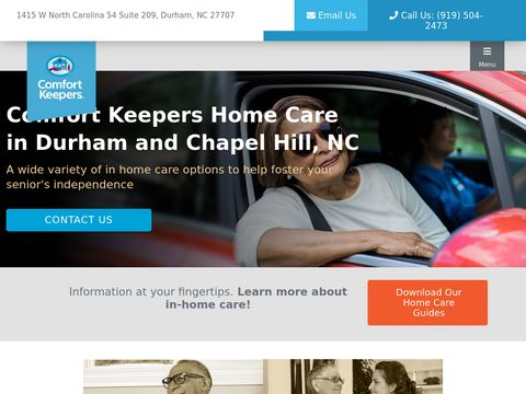 Elder Care in Chapel Hill and Durham, NC