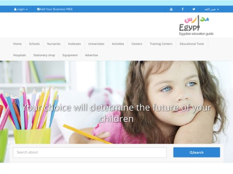 Madares Egypt educational institutes directory