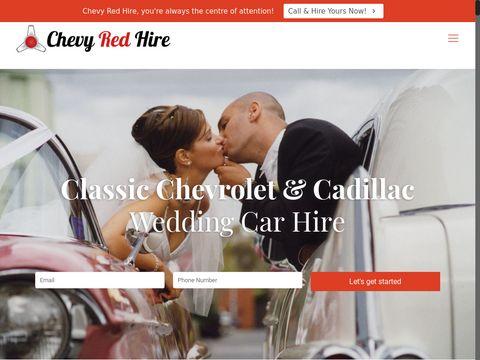 Chevy Red Hire   Luxurious Car Hire, Car Rental   Victoria, Australia