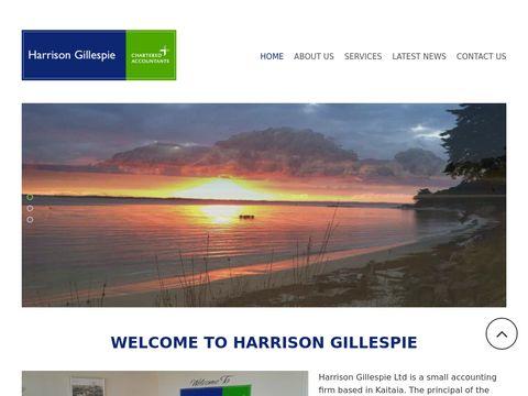 Harrison Gillespie | Chartered Accountant | Tax Consultant, Adviser | Kaitaia, NZ