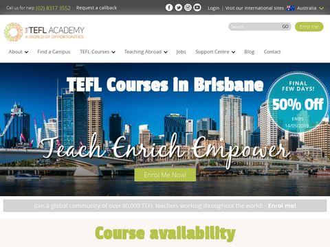 The TEFL Academy Brisbane