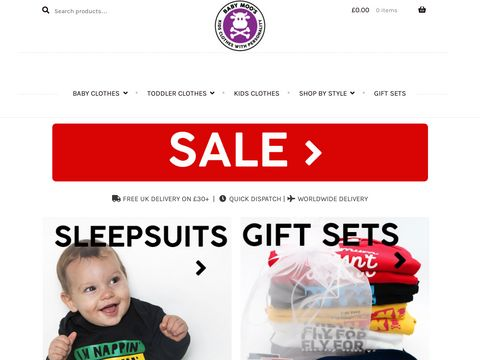 Baby Moos - Funky, Affordable Baby Clothes Boutique