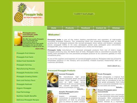Pineapple India