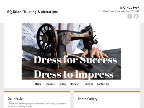 GQ Tailor | Tailoring & Alterations