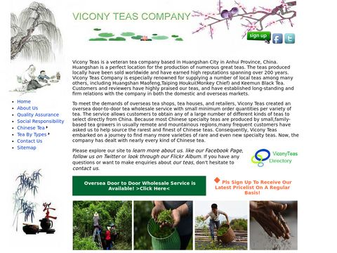 Chinese organic tea suppliers- ViconyTeas