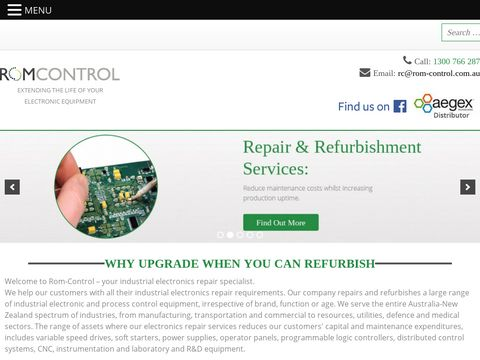 Industrial Electronic Equipment Repair Services