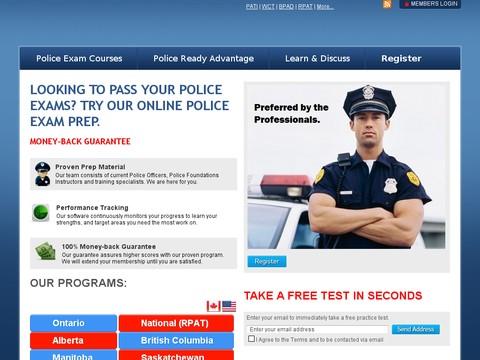 Police Ready - Canadian Police Prep - PATI WCT BPAD WCT Test