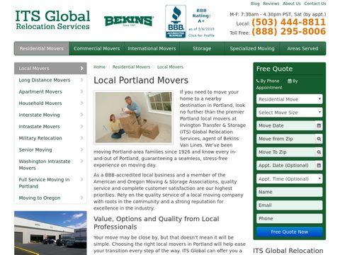 Local Portland Movers