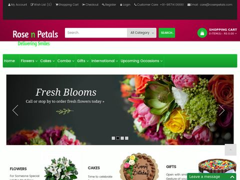 Welcome To Rose N Petals|Send Flowers to Delhi India|Flower Delivery NCR-Gurgaon|Delhi Florist