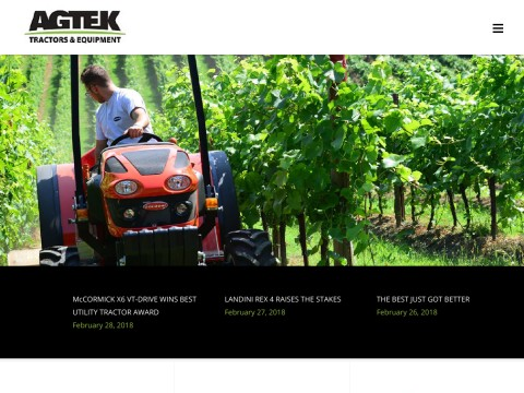 Agtek | Goldoni, Horticultural, Kiwifruit Tractors | New Zealand