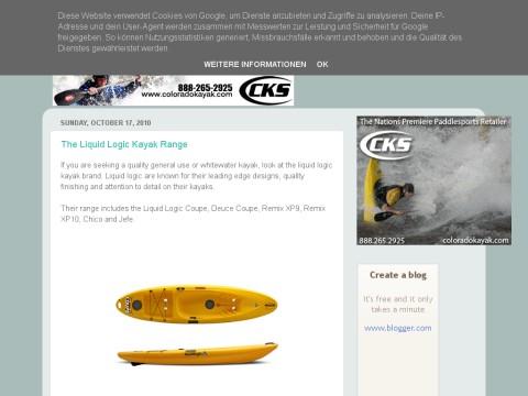 Liquid Logic Kayaks