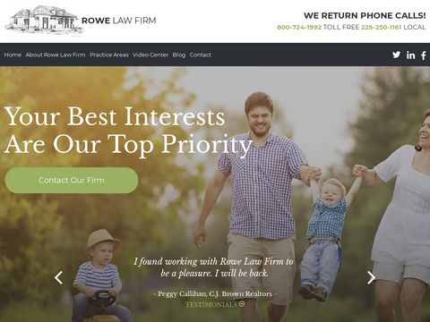 Rowe Law Firm