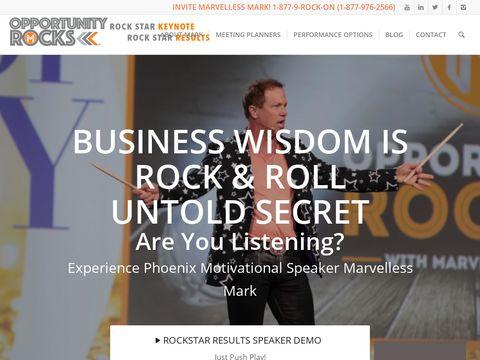 Mark Kamp aka Marvelless Mark Keynote Speaker