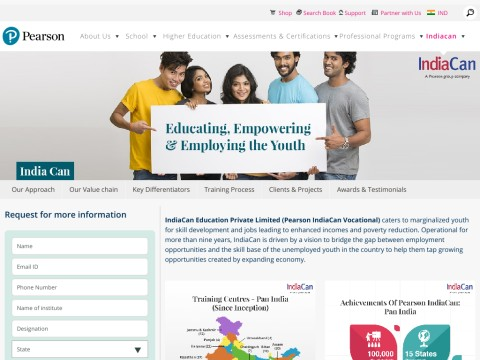 IndiaCan: Vocational Training & English Speaking Courses Aft
