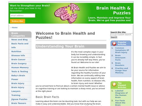 brain exercise games