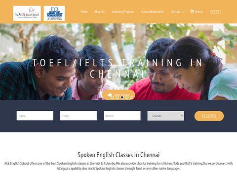 ACE English School | Spoken English Classes in Chennai | Colombo