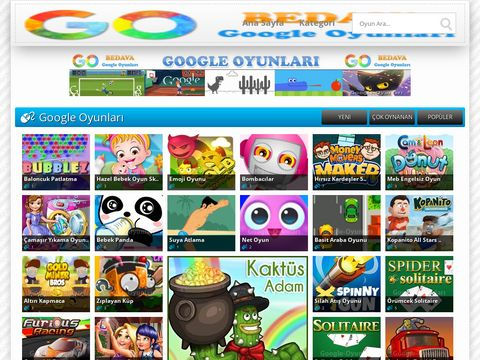 Ucretsiz Google Oyunlar   Bedava Oyna   GO