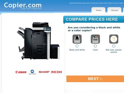 Copier Price Comparisons