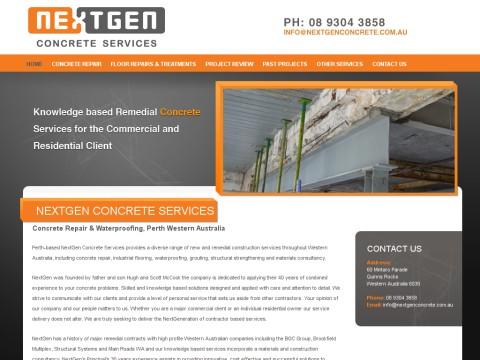 Concrete Repair Perth WA