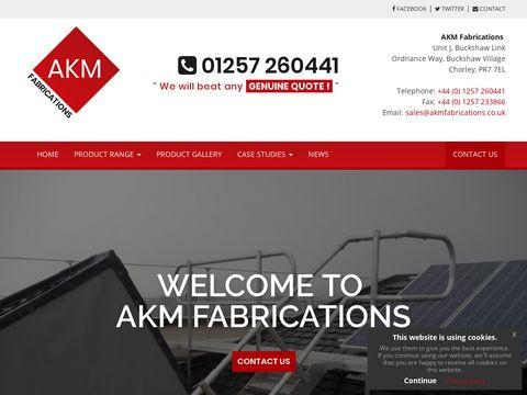 AKM Fabrications   Rubbish Chute, Guardrail,