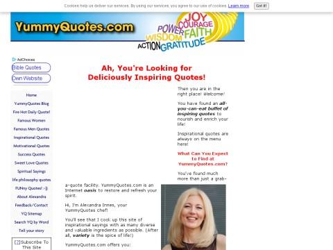 YummyQuotes: Deliciously Inspiring Quotes!