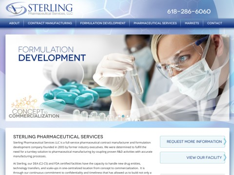 Sterling Pharmaceutical Services LLC