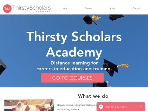 Thirsty Scholars Academy