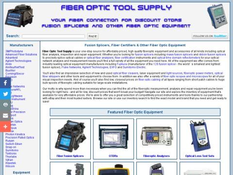 Discount Sumitomo, Fujikura, Siecor & Fitel Fusion Splicers