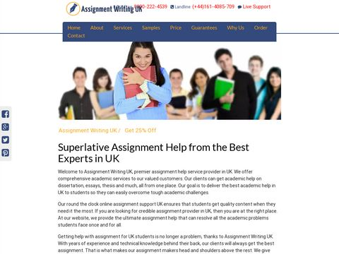 Assignment Writing UK for Student