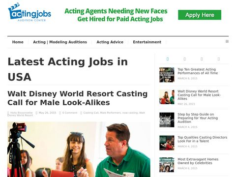 Your Online Acting Community