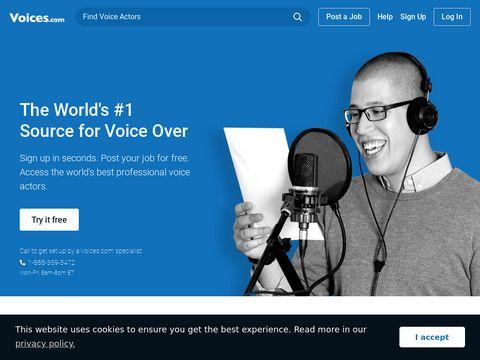Voices.com | #1 Voice Over Marketplace for Voice Over Talent