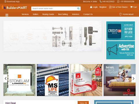 Buy Building & Construction Materials Online -BuildersMART