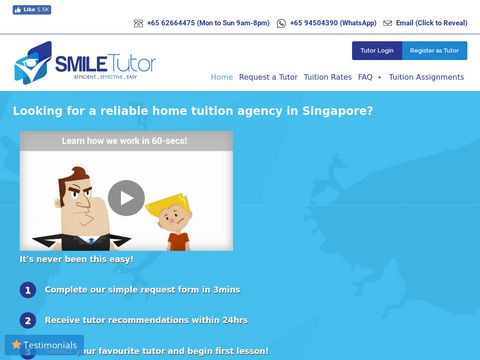 SmileTutor Private Tuition Agency