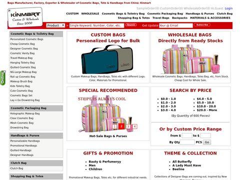 Custom & Wholesale Bag by China Manufacturer & Exporter: Kinmart
