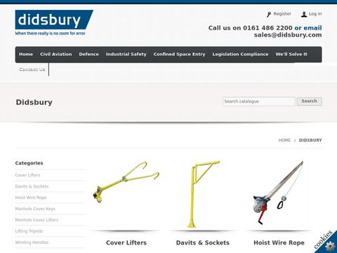 Lifting, handling, equipment - Didsbury Direct