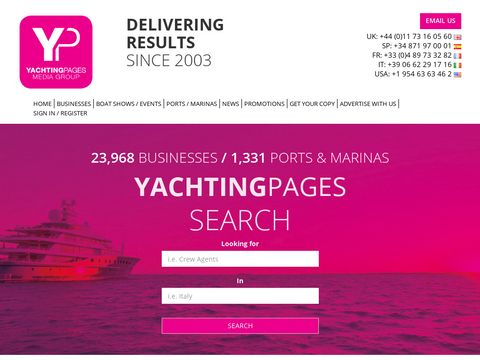Yachting Pages